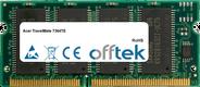 TravelMate 7364TE 64MB Módulo - 144 Pin 3.3v PC66 SDRAM SoDimm