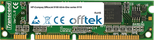 OfficeJet 9100 All-in-One Serie 9110 128MB Módulo - 100 Pin 3.3v SDRAM PC100 SoDimm
