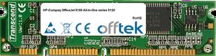 OfficeJet 9100 All-in-One Serie 9120 128MB Módulo - 100 Pin 3.3v SDRAM PC100 SoDimm