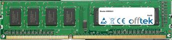 A880GU3 4GB Módulo - 240 Pin 1.5v DDR3 PC3-12800 Non-ECC Dimm