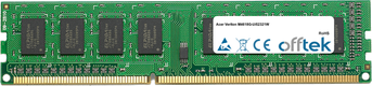 Veriton M4618G-Ui52321W 4GB Módulo - 240 Pin 1.5v DDR3 PC3-10664 Non-ECC Dimm