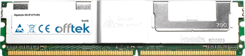 GS-R127V-RH 8GB Kit (2x4GB Módulos) - 240 Pin 1.8v DDR2 PC2-5300 ECC FB Dimm