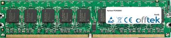 PCK02643 4GB Kit (2x2GB Módulos) - 240 Pin 1.8v DDR2 PC2-5300 ECC Dimm (Dual Rank)