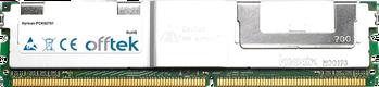 PCK02761 4GB Kit (2x2GB Módulos) - 240 Pin 1.8v DDR2 PC2-5300 ECC FB Dimm