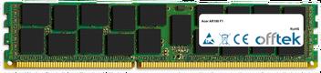 AR180 F1 16GB Módulo - 240 Pin 1.5v DDR3 PC3-8500 ECC Registered Dimm (Quad Rank)