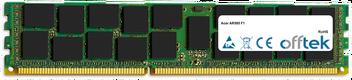 AR585 F1 16GB Módulo - 240 Pin 1.5v DDR3 PC3-8500 ECC Registered Dimm (Quad Rank)