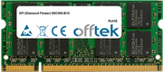 G5C900-B10 1GB Módulo - 200 Pin 1.8v DDR2 PC2-5300 SoDimm