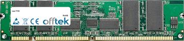 7110 1GB Módulo - 168 Pin 3.3v PC133 ECC Registered SDRAM Dimm