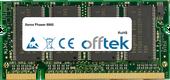 Phaser 8860 512MB Módulo - 200 Pin 2.5v DDR PC333 SoDimm