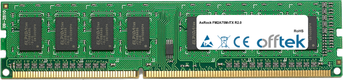 FM2A75M-ITX R2.0 8GB Módulo - 240 Pin 1.5v DDR3 PC3-10600 Non-ECC Dimm