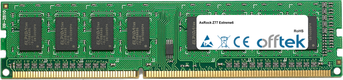 Z77 Extreme6 8GB Módulo - 240 Pin 1.5v DDR3 PC3-10600 Non-ECC Dimm