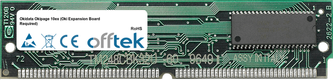 Okipage 10ex (Oki Expansion Board Required) 32MB Módulo - 72 Pin 5v FPM Non-Parity Simm