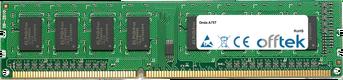 A75T 8GB Módulo - 240 Pin 1.5v DDR3 PC3-10600 Non-ECC Dimm
