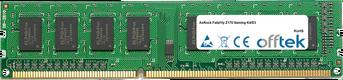 Fatal1ty Z170 Gaming K4/D3 8GB Módulo - 240 Pin 1.5v DDR3 PC3-12800 Non-ECC Dimm
