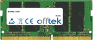 MX110HD 16GB Módulo - 260 Pin 1.2v DDR4 PC4-19200 SoDimm