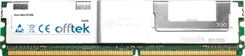 Altos R720E 4GB Kit (2x2GB Módulos) - 240 Pin 1.8v DDR2 PC2-5300 ECC FB Dimm