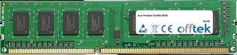 Predator G3-605-UR3B 8GB Módulo - 240 Pin 1.5v DDR3 PC3-12800 Non-ECC Dimm