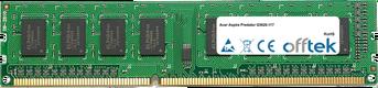 Aspire Predator G3620-117 4GB Módulo - 240 Pin 1.5v DDR3 PC3-10664 Non-ECC Dimm