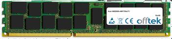 AW2000h-AW170hd F1 8GB Módulo - 240 Pin 1.5v DDR3 PC3-10664 ECC Registered Dimm (Dual Rank)