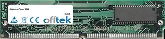 AcerPower 9346 64MB Kit (2x32MB Módulos) - 72 Pin 5v EDO Non-Parity Simm