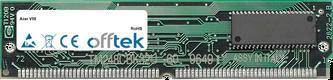 V55 128MB Kit (2x64MB Módulos) - 72 Pin 5v EDO Non-Parity Simm