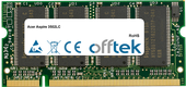 Aspire 3502LC 1GB Módulo - 200 Pin 2.5v DDR PC333 SoDimm