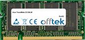 TravelMate 2313NLM 1GB Módulo - 200 Pin 2.5v DDR PC333 SoDimm
