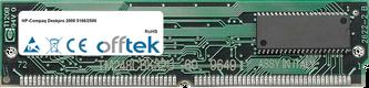 Deskpro 2000 5166/2500 16MB Kit (2x8MB Módulos) - 72 Pin 5v EDO Non-Parity Simm