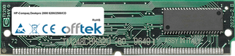 Deskpro 2000 6200/2500/CD 16MB Kit (2x8MB Módulos) - 72 Pin 5v EDO Non-Parity Simm