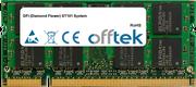 ST101 System 2GB Módulo - 200 Pin 1.8v DDR2 PC2-4200 SoDimm