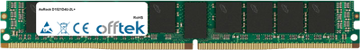 D1521D4U-2L+ 16GB Módulo - 288 Pin 1.2v DDR4 PC4-19200 ECC Registered Dimm (VLP)