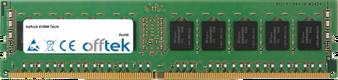 X399M Taichi 16GB Módulo - 288 Pin 1.2v DDR4 PC4-19200 ECC Dimm