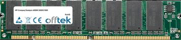 Deskpro 4000N 5200X/1600 128MB Módulo - 168 Pin 3.3v PC100 SDRAM Dimm