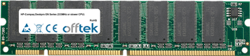 Deskpro EN Serie (333MHz Or Slower CPU) 128MB Módulo - 168 Pin 3.3v PC100 SDRAM Dimm