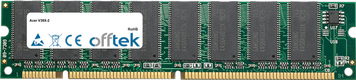 V38X-2 128MB Módulo - 168 Pin 3.3v PC133 SDRAM Dimm