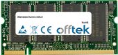 Aurora MALX 1GB Módulo - 200 Pin 2.6v DDR PC400 SoDimm
