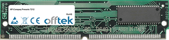 Presario 7212 64MB Kit (2x32MB Módulos) - 72 Pin 5v EDO Non-Parity Simm