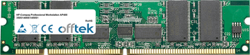 Professional Workstation AP400 350S1/400S1/450S1 256MB Módulo - 168 Pin 3.3v PC100 ECC Registered SDRAM Dimm