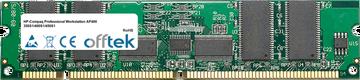 Professional Workstation AP400 350S1/400S1/450S1 256MB Módulo - 168 Pin 3.3v PC100 ECC Registered SDRAM Dimm