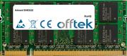 DHEX22 1GB Módulo - 200 Pin 1.8v DDR2 PC2-4200 SoDimm