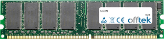 T2 1GB Módulo - 184 Pin 2.6v DDR400 Non-ECC Dimm