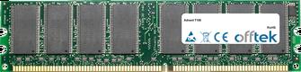 T100 1GB Módulo - 184 Pin 2.6v DDR400 Non-ECC Dimm