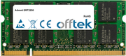 ERT2250 1GB Módulo - 200 Pin 1.8v DDR2 PC2-4200 SoDimm