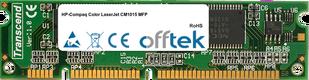 Color LaserJet CM1015 MFP 128MB Módulo - 100 Pin 3.3v SDRAM PC100 SoDimm