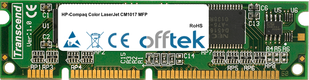 Color LaserJet CM1017 MFP 128MB Módulo - 100 Pin 3.3v SDRAM PC100 SoDimm