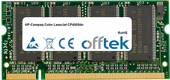 Color LaserJet CP4005dn 512MB Módulo - 200 Pin 2.5v DDR PC333 SoDimm