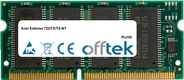 Extensa 722iTX/TX-NT 128MB Módulo - 144 Pin 3.3v PC66 SDRAM SoDimm
