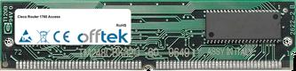 Router 1760 Access 16MB Módulo - Proprietary