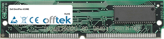 OmniPlex 433/ME 64MB Kit (2x32MB Módulos) - 72 Pin 5v EDO Non-Parity Simm