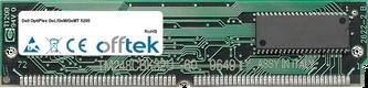 OptiPlex GsL/GsM/GsMT 5200 64MB Kit (2x32MB Módulos) - 72 Pin 5v EDO Non-Parity Simm